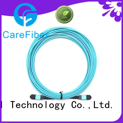 Carefiber best mtp patch cord mpompoom412f30mmlszh10m for connections