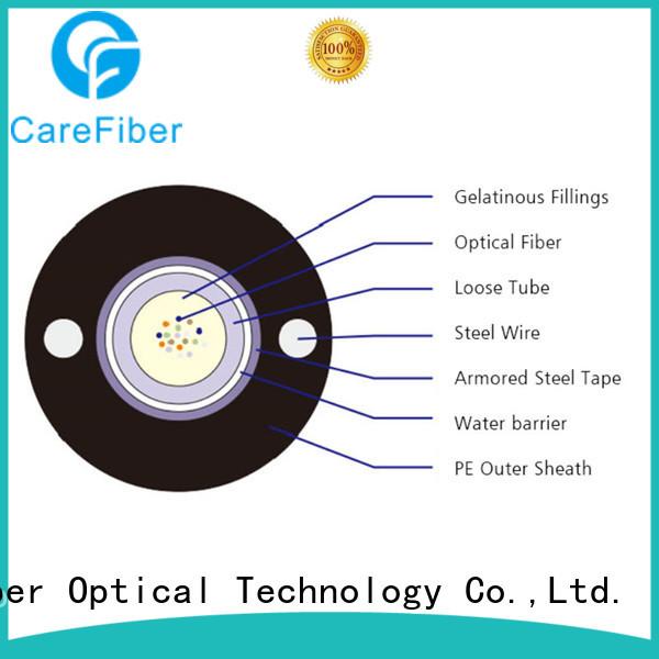 Carefiber commercial fiber optic outdoor gyxtw for trader