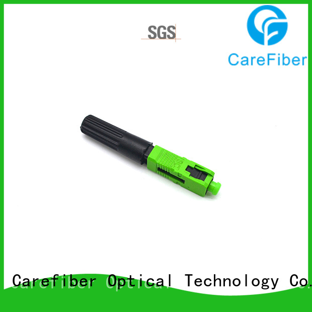 Carefiber upc fiber optic fast connector trader for consumer elctronics
