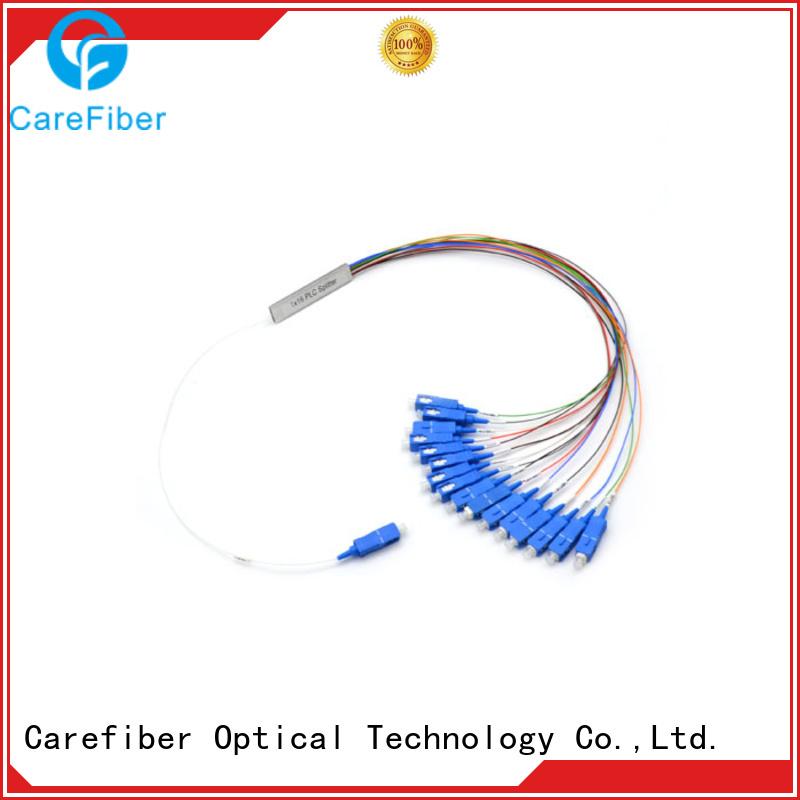 Carefiber quality assurance fiber optic splitter types trader for communication