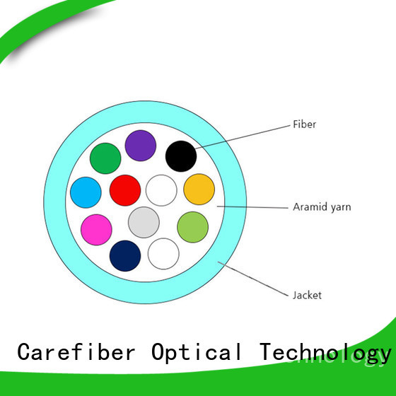Carefiber gjbfjv single mode fiber cable provider for indoor environment