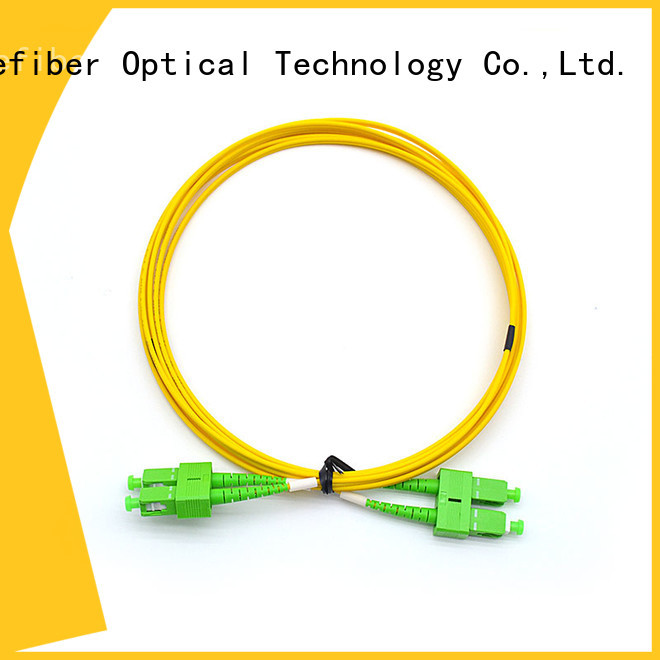 Carefiber duplex fiber patch cord types manufacturer