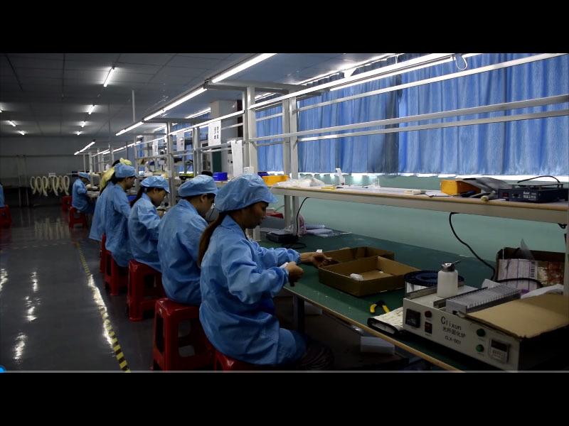 Patch cord production line