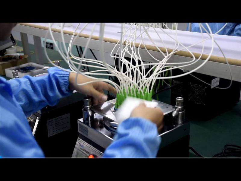 Polishing end-face SC-APC - Carefiber