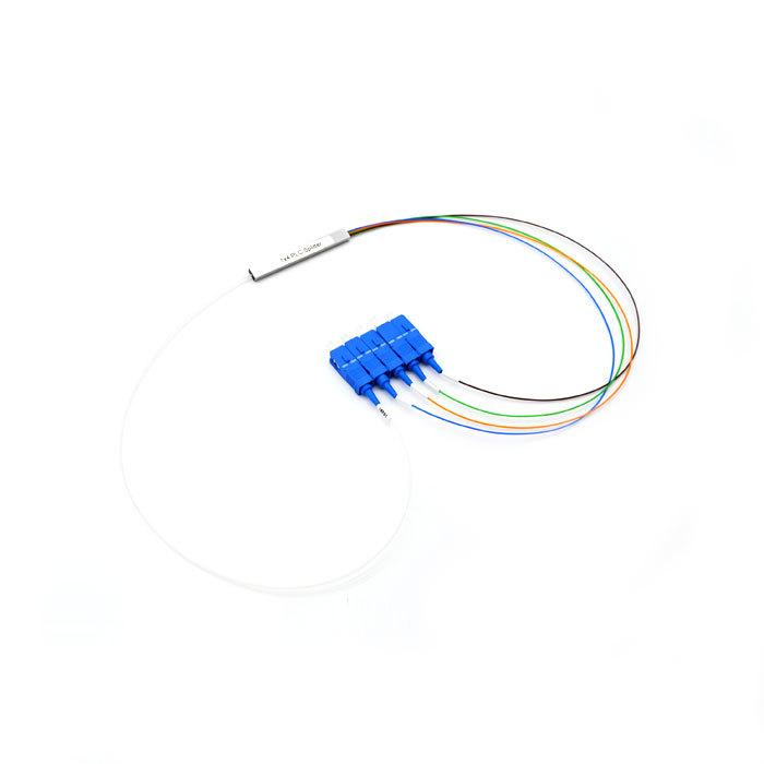 1X4 PLC Splitter SCUPC steel type:CFO-WU-04 02