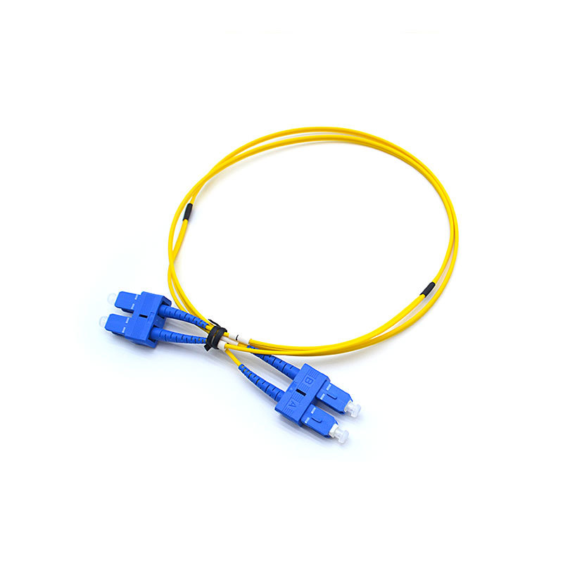 SC-UPC-SC-UPC-SM Duplex Fibre Optical Patch Cords 2.0MM LSZH 1M
