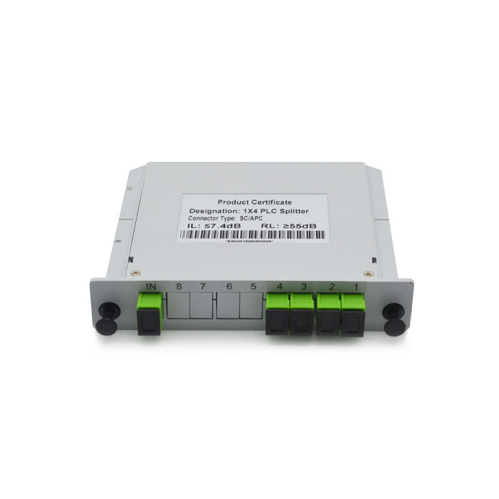 1x4 Card PLC Splitter