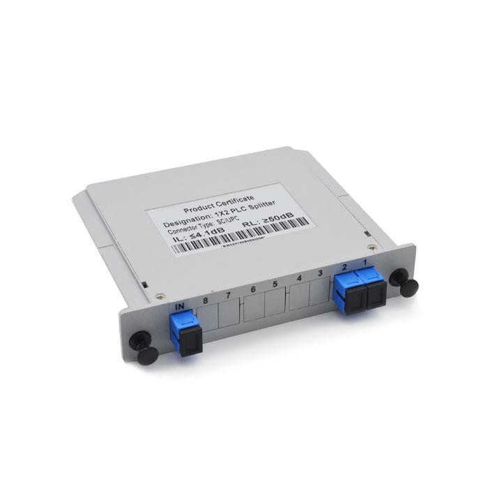 1x2 Card PLC Splitter