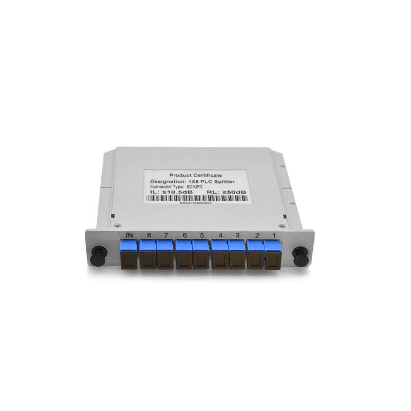 1x8 Card PLC Splitter