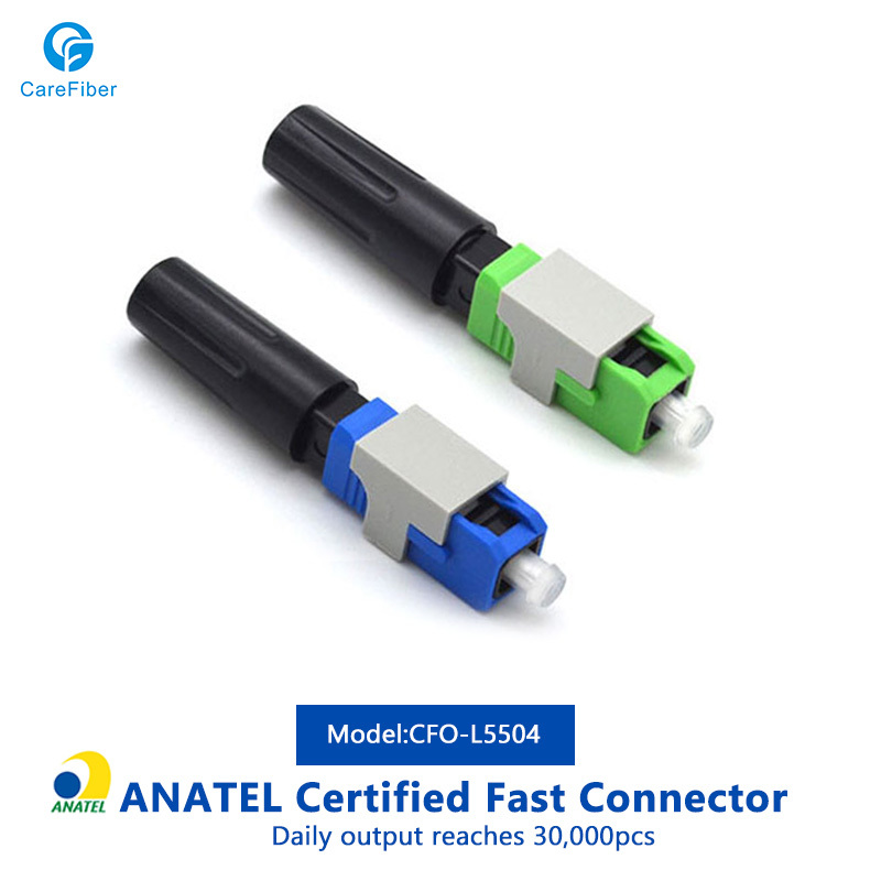 ABS FTTH SC UPC SC APC Fiber Optical Connector