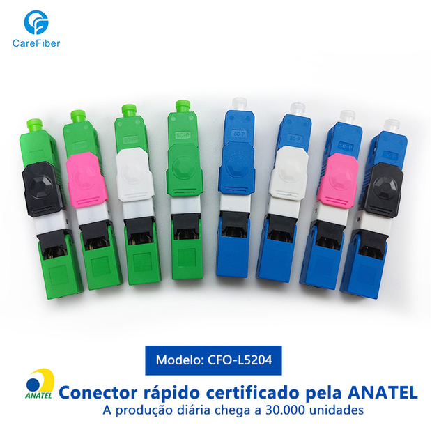 Click Tipo Optic Fiber Fast Connector(APC/UPC)