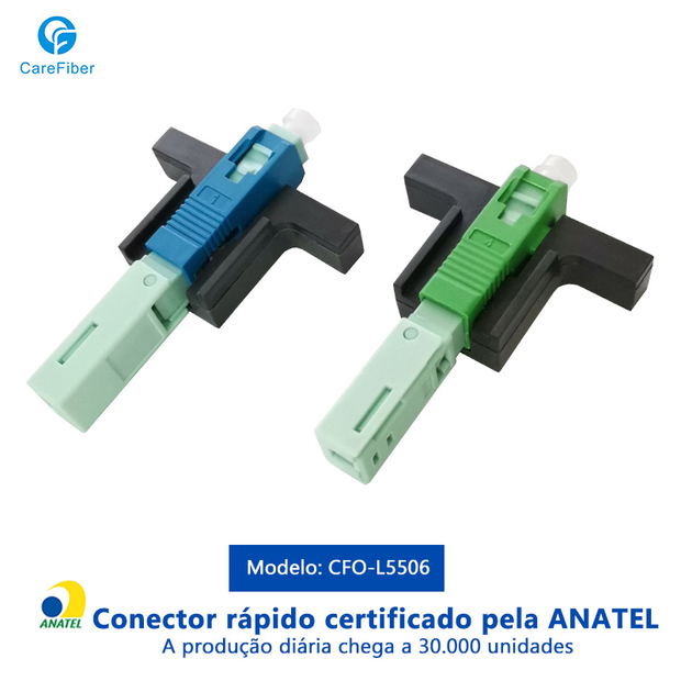 Spiral Types SC/APC(UPC) Fiber Optic Fast Connector Quick Assembly Single Mode