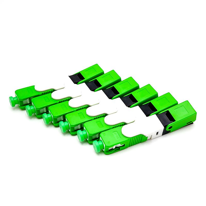 SCAPCandSCUPC Single-Mode Fiber Optic Quick Connector FTTHSMOptic Fast Connector