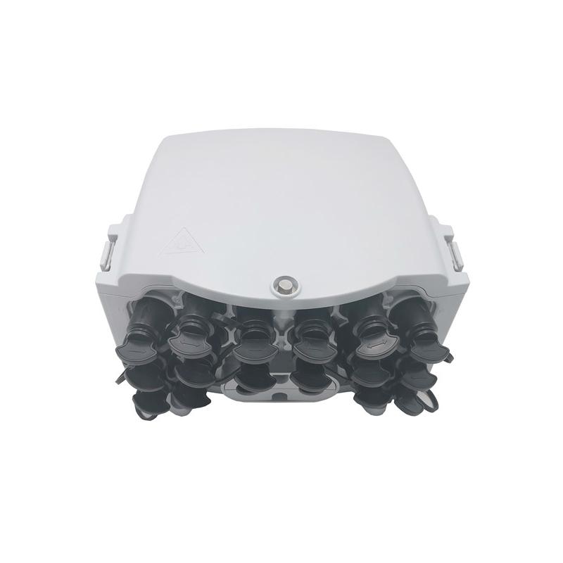 16 Port Ftta Nap Outdoor Fiber Termination Box IP65 With Waterproof Connectors
