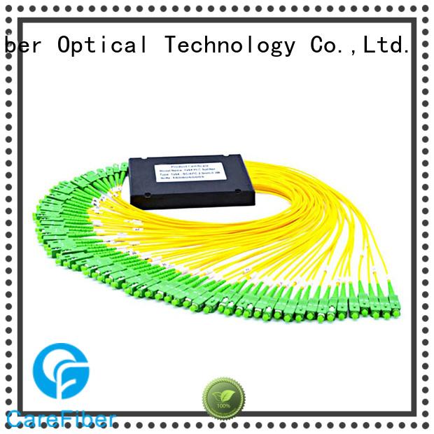 Carefiber best powered optical splitter splittercfowa04 for communication