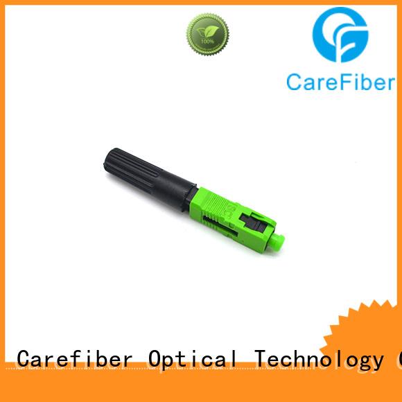 Carefiber connectorcfoscapcl5001 lc fiber connector provider for distribution