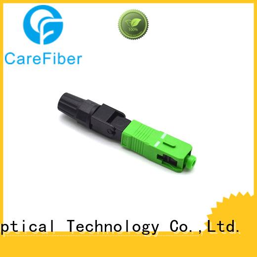 Carefiber new fiber fast connector factory for consumer elctronics