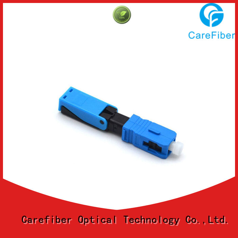 connectors optical cable connector types lock for consumer elctronics Carefiber