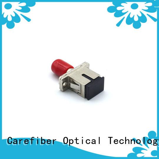 Carefiber economic fiber optic adapter supplier for importer