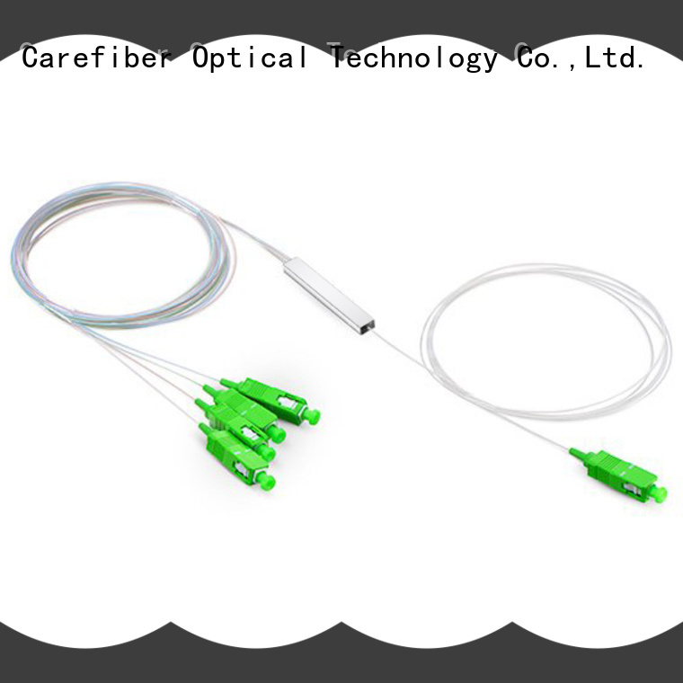 Carefiber 1x16plc fiber optic cable slitter foreign trade for communication