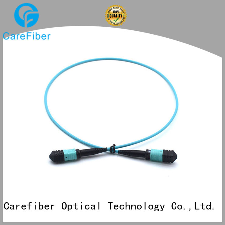 Carefiber most popular mpo/mtp patch cord mpompoom412f30mmlszh10m for connections