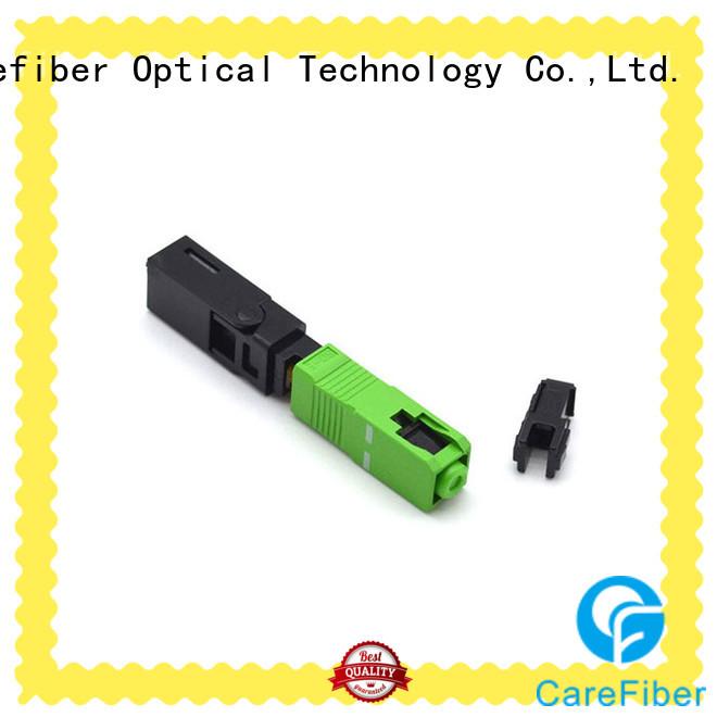 fiberfast sc fiber optic connector fibre for distribution Carefiber