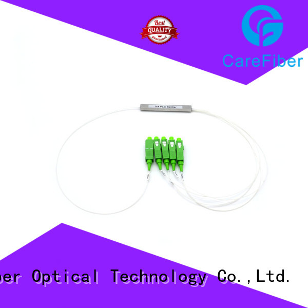 1x8 single mode fiber splitter foreign trade for communication Carefiber