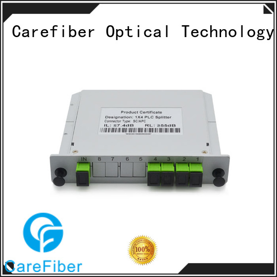 quality assurance plc optical splitter box cooperation for communication