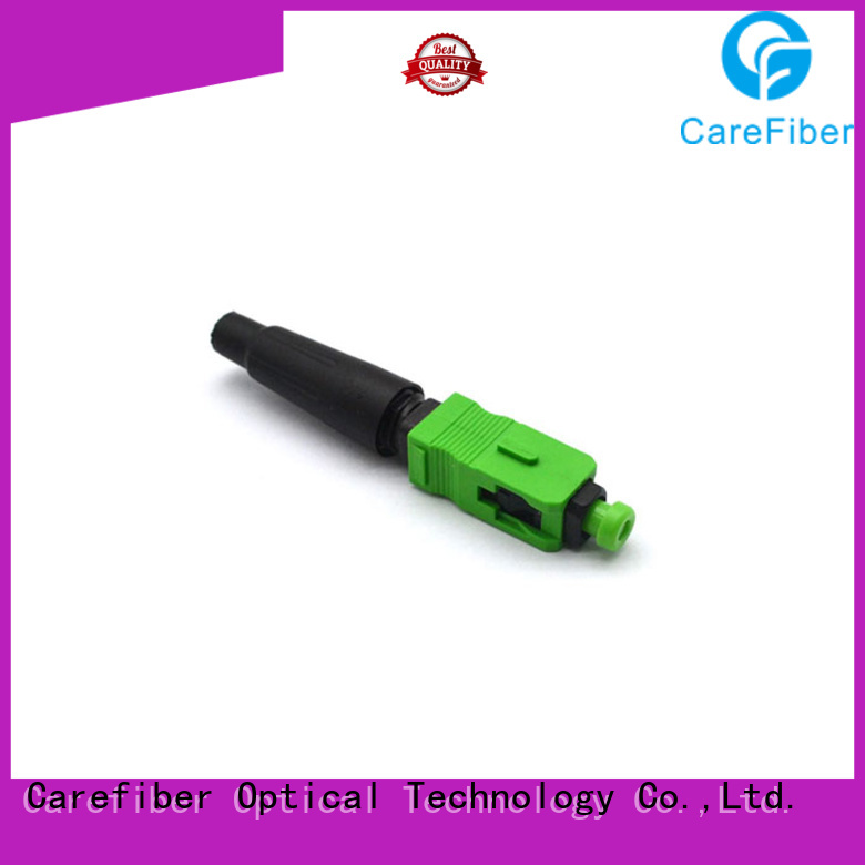 Carefiber cfoscapc5504 fiber optic fast connector trader for distribution