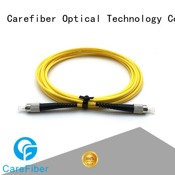 duplex lc fc patch cord manufacturer Carefiber