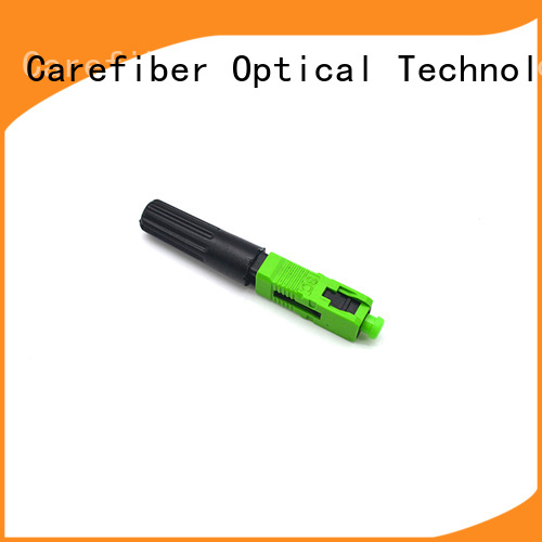 Carefiber fast sc fiber optic connector factory for consumer elctronics