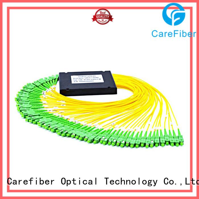 Carefiber most popular splitter plc foreign trade for global market