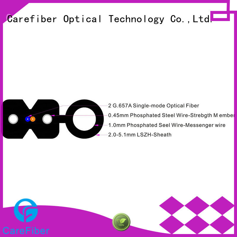 Carefiber variety of fiber drop wire supplier for communication