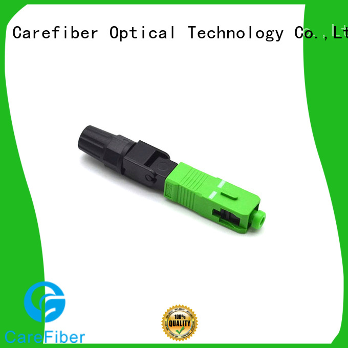 fiber optic quick connector fast for communication Carefiber