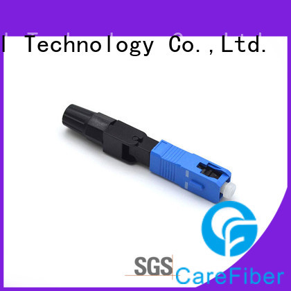 Carefiber quick sc fiber optic connector trader for distribution