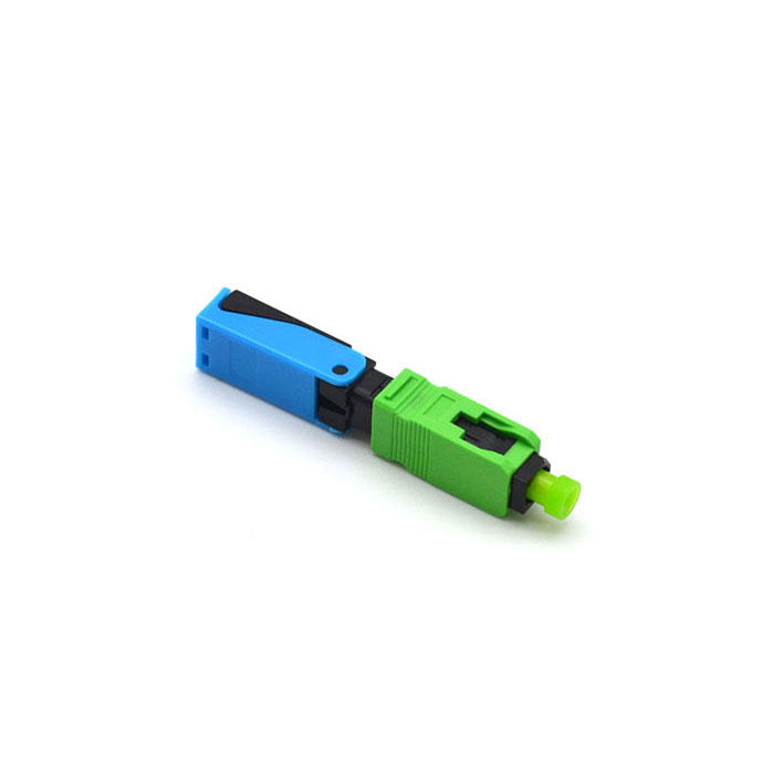 Fast lock connector :CFO-SC-APC-L5201-3