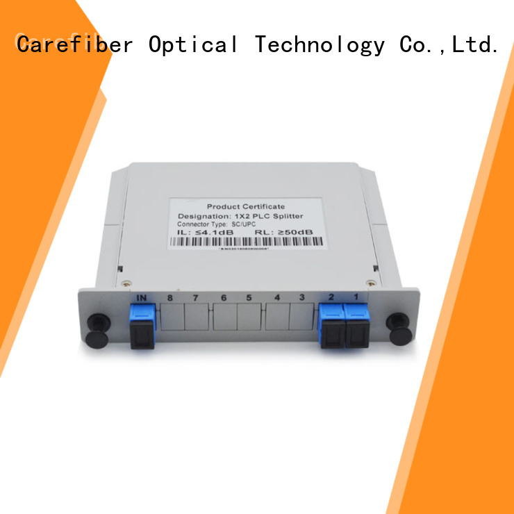 quality assurance optical cable splitter best buy 1x2 cooperation for communication