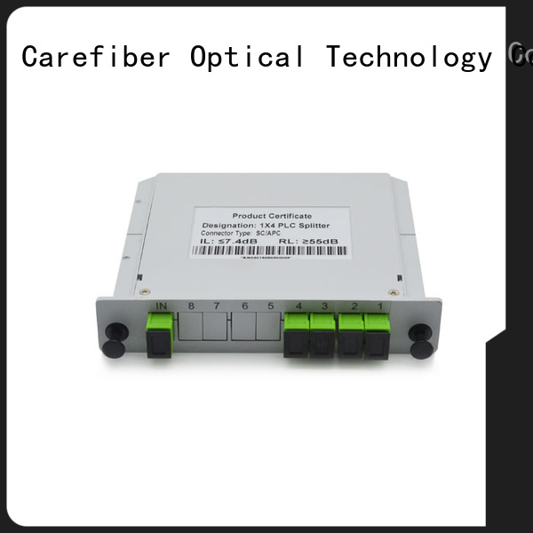 Carefiber quality assurance optical cable splitter foreign trade for communication