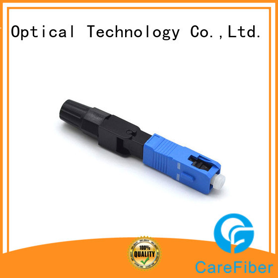 Carefiber mini fast connector :CFO-SC-UPC-6001