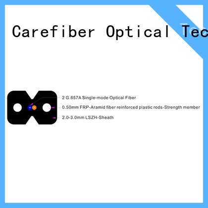 Carefiber highly recommended aerial drop cable supplier for wholesale