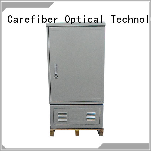 Carefiber 144cores288cores576cores fiber optic cabinet trader for telecom industry
