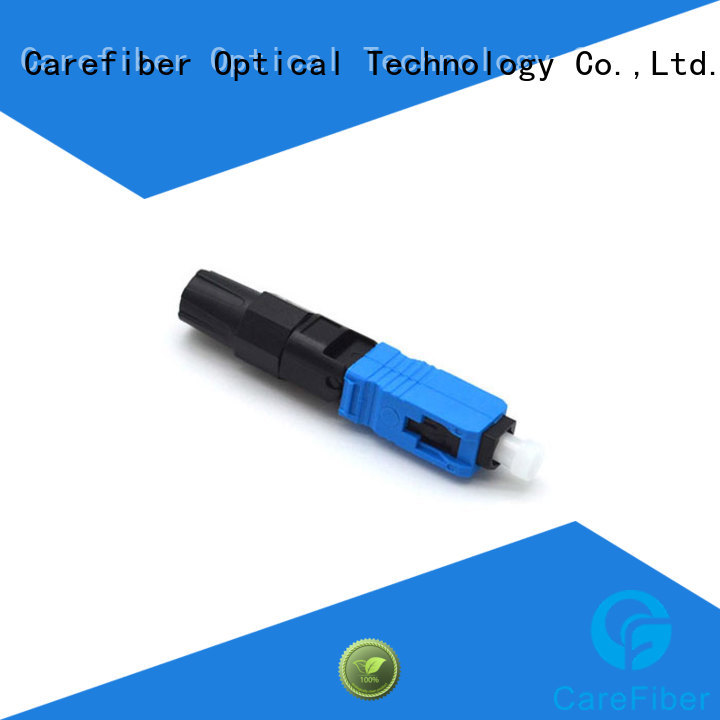 new fiber optic fast connector trader for communication
