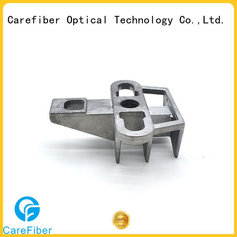 Carefiber optic hook clamp program consultation for businessman