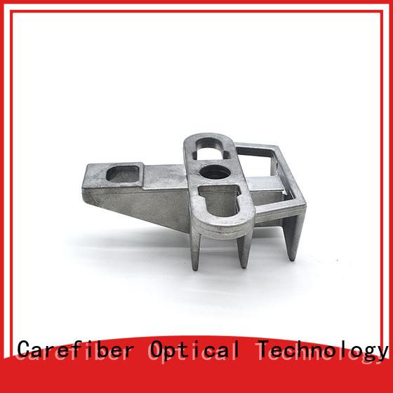 Carefiber optic hook clamp program consultation for businessman