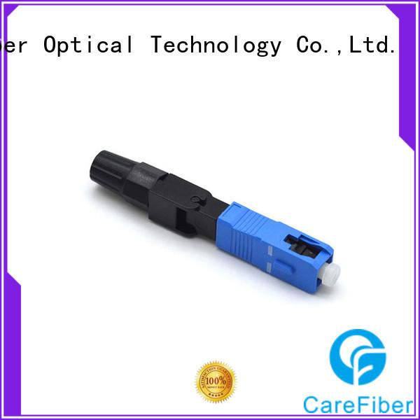 Carefiber new plastic optical fiber connectors provider for distribution