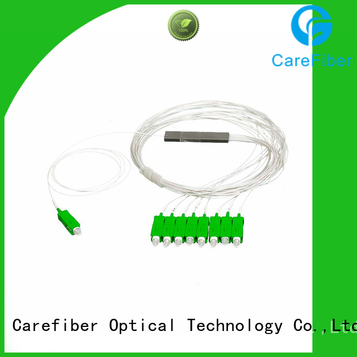 1x64 optical cord splitter foreign trade for industry Carefiber