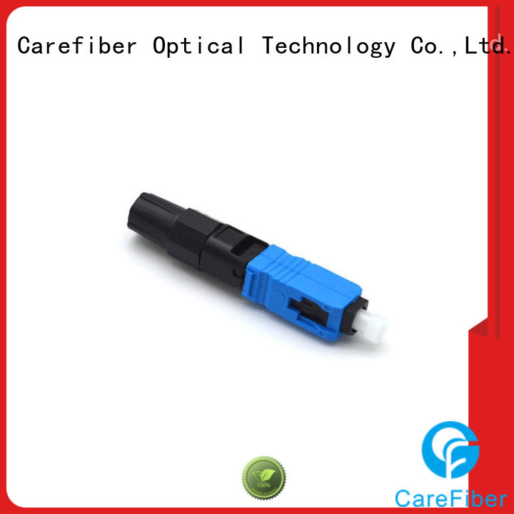 Carefiber mini lc fast connector factory for communication