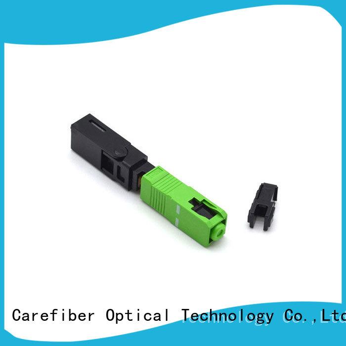 Carefiber assembly sc fiber optic connector factory for communication