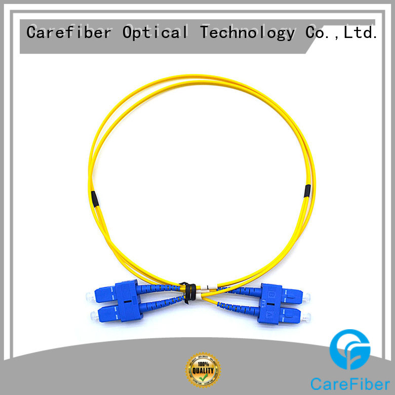 Carefiber standard cable patch cord patch for consumer elctronics