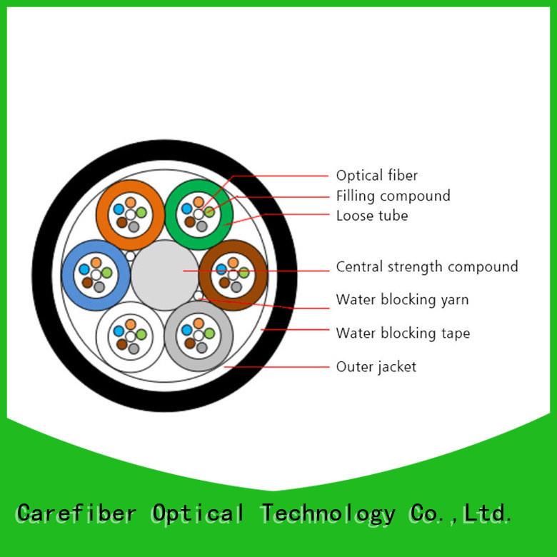 Carefiber standard fiber optic network cable order online for importer